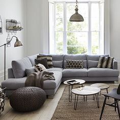 Brandon - Set 2 Corner Group LHF | Corner Sofas | Living Room