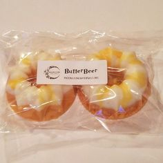 ButterBeer Wax Cakes (2 pack)