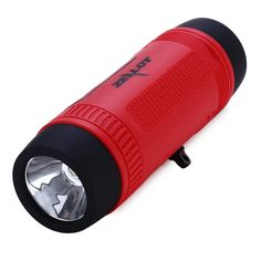 4 In 1 Outdoor Bluetooth Speaker Portable Wireless Bicycle Flashlight Speaker 4000Mah Power Bank Fm Radio With Tf Card Slot. new smart.