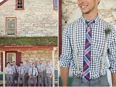 Bridal Fashion: The Groomsmen | By Erin McLean Events