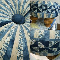 Another one of my tuffet designs...laura purtell