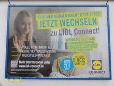 688. - Plakat in Stockach. / 25.10.2015./