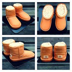 UGG shoes #uggaustralia #ugg #shoes #shoescake #birthday @andelskedorty