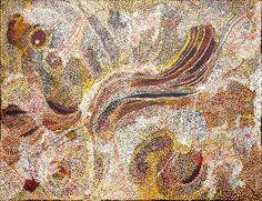 Nyunmiti Burton - Ngayuku ngura - My Country - 198 x 152 cm http://www.aboriginalsignature.com/art-aborigene-tjala/nyunmiti-burton-ngayuku-ngura-my-country-198-x-152-cm
