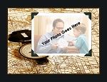 Father Time Photo Blanket