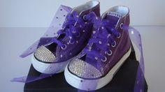 DIY Crystal Embellished Converse |