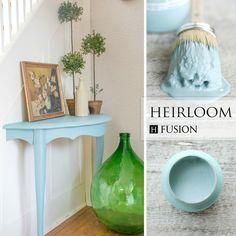 Fusion mineral paint in Heirloom - via My Painted Door (.com)