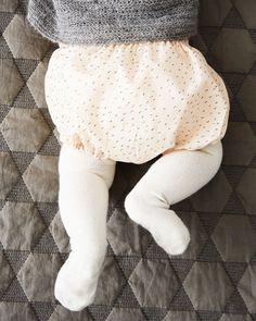 Sy selv: Gratis mønster til bloomers til baby - Hendes Verden