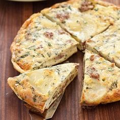 Italian Sausage and Potato Frittata Recipe - Cooks Country Brunch Dishes, Breakfast Dishes, Breakfast Recipes, Breakfast Ideas, Brunch Ideas, Potato Frittata, Frittata Recipes, Egg Recipes, Great Recipes