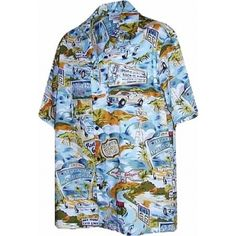 chemise hawaienne ...ROUTE 66