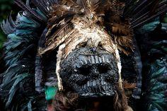 Aztec War Mask