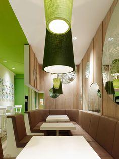 Wienerwald restaurant by Ippolito Fleitz Group, Munich