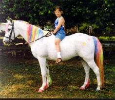 Rainbow Brite Horse Fancy Dress Ideas: Unicorn