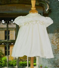 New Silk Baby Dresses from Emile at Little Whispers