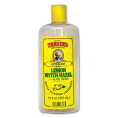 Thayers Lemon Witch Hazel with Aloe Vera.  Best non-drying toner ever.  Clears summer breakouts and excess oil.  Love love love. $10