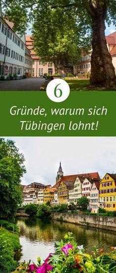 Tübingen in Baden-Württemberg ist eine der schönsten Städte Deutschlands in denen ich bis jetzt war!  #tübingen #städtetrip #städtereise #deutschland Germany Europe, Germany Travel, Reisen In Europa, Timber Frame Homes, Switzerland, Vacation, Mansions, House Styles, City