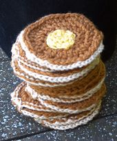Ravelry: Super Easy Pancake Scarf pattern by Stacey Lynn