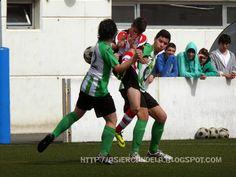 """Asier y Pablo, mis equipos de futbol: 150426  S.D. NUEVA MONTAÑA """"A""""  0 -6  C.D. COLINDR..."""