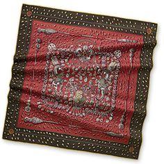 Hermes Women's Medium Silk Twill Scarves in Brown | Hermes.com