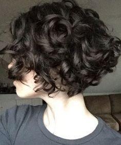 2017 Short Bob Haircuts For Curly Thick Hair