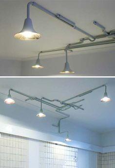 ceiling-lighting-industrial-system-lighting ideas