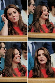 Catherine, Duchess of Cambridge attends day nine of the Wimbledon Lawn Tennis Championships at the All England Lawn Tennis and Croquet Club, July 8, 2015.