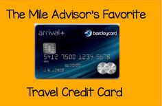 The best travel credit card