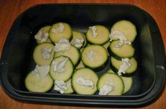 AngelSan Creation: Courgettes au micro ondes