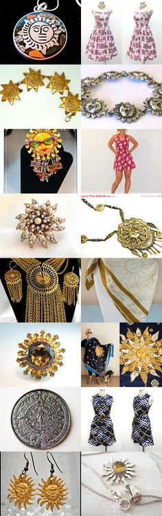 Walking on Sunshine by Charlotte on Etsy--Pinned with TreasuryPin.com