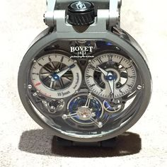 #bovet1822 #bovet #pininfarina ottantaSei  #watch #patented with 3 patents. Double-sided  #tourbillon ultra lightweight and super #cool #hautehorology 165000 Swiss francs #atimelyperspective  #watchlovers  #hautetime by atimelyperspective