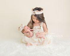 Beautiful Newborn Sibling Photography