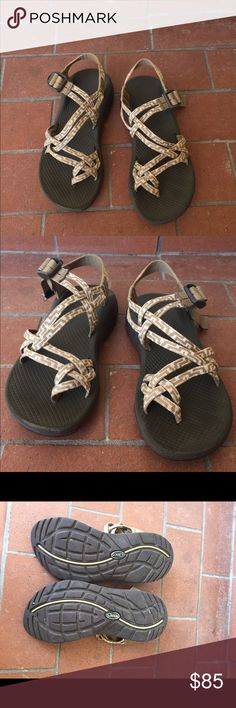 W7 women's Chaco sandals These sandals have the cloud soul and have only been warn a few times in great condition Chaco Shoes Sandals