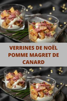 Pin by Noiram Rapsag on Noël cuisine Christmas Appetizers, Appetizers For Party, Tapas, New Years Eve Dessert, Toast Pizza, Snack Recipes, Healthy Recipes, Coco, Mousse