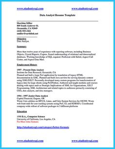 Nice High Quality Data Analyst Resume Sample From Professionals, Check More  At Http:/