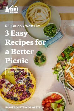 Make a picnic spread that looks like a dinner party, without the fuss. Picnic Menu, Toasted Pumpkin Seeds, Roasted Corn, Tasty, Yummy Food, Easy Meals, Hiking, Camping, Journal