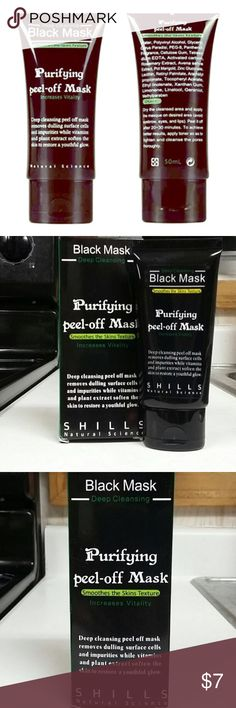 Shills Black Mask Black Head Blaster! With legions of fans, the FAMOUS & 100% GENUINE black peel-off mask from Shills is here. The ORIGINAL Shills Deep Cleansing Purifying Peel-Off Black Face Mask has earned its superstar status by being the ultimate blackhead-buster. Specially-formulated to unblock clogged pores by peeling blackheads, dirt and spot-causing bacteria away. Activated bamboo charcoal acts like a magnet to draw out the most deeply-rooted impurities while naturally-derived…