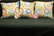 Retro Spiral Cushion Covers  http://www.facebook.com/MadeBySarah