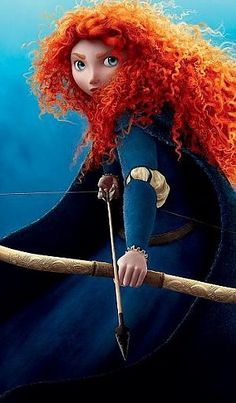 Merida from Brave due in June-love the curly red hair and the fact that Pixar is finally giving young girls a role model. Film Pixar, Pixar Movies, Disney Movies, Buy Movies, Movies Free, Watch Movies, Movies Online, Brave Pixar, Brave Movie