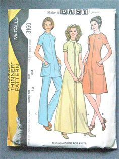 UNCUT 70s McCall's 3160 Sewing Pattern by Fancywork on Etsy