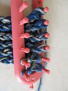 This Mama Knits: Figure-Eight Reversible Headband/Ear-warmer Picture Tutorial