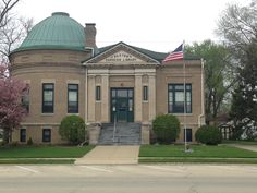 Carnegie Library, Paxton, IL, established in 1903. http://paxtonlibrary.blogspot.com/