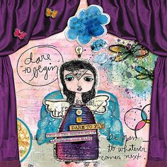 No Curtain Calls by Stacia Hall - M3 August 2015 Add-ons Word Art and Elements by Little Butterfly Wings; Mixed Media Monthly: August 2015 by Little Butterfly Wings, Lynne-Marie, Sissy Sparrows and Quirky Heart; Font: AMD High Jump by Amy Martin