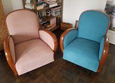 My dream come true❤ art deco armchairs