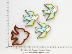 Flying Swallow Cookie Cutter