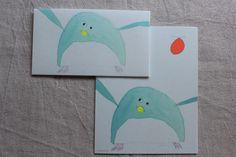 Penguin Washi Letter Writing Set   Animal Washi Letter Set   Mino Washi Letter Writing Set -  12 letter papers - 4 envelopes  - 1658
