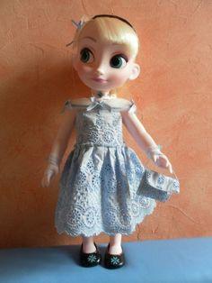 robe d'été pour elsa, reine des neiges