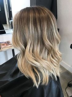 beautiful haircuts for blond hair - # hair # haircuts # beautiful # . - beautiful haircuts for blonde hair – - Brown Hair Balayage, Brown Blonde Hair, Brown Hair With Highlights, Hair Color Balayage, Light Brown Hair, Natural Blonde Balayage, Blonde Balayage Highlights, Bayalage, Golden Blonde