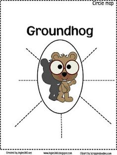 Groundhog ideas and printables -  Pinned by @PediaStaff – Please Visit http://ht.ly/63sNt for all our pediatric therapy pins