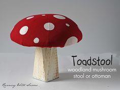 Running With Scissors: Tutorial: Mushroom Stool