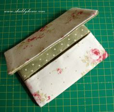 Shabby Home: IL TUTORIAL!!!! THE TUTORIAL!!!  tissue holder/ sewing purse